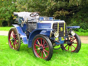 The 1899 8h.p. Panhard et Levassor